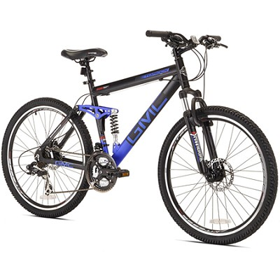 26` Topkick Dual Suspension 21 Speed Mountain Bike (72670)