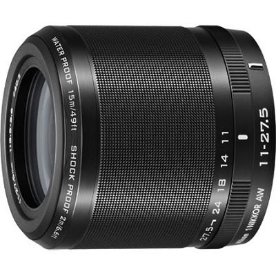 1 NIKKOR AW 11-27.5mm f/3.5 - 5.6 Lens Black