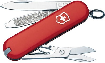 Classic SD Pocket Knife (Red)