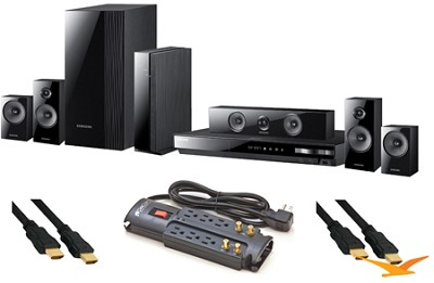 HT-E5500W Blu Ray Home Theater Value Bundle