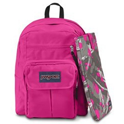Digital Student Backpack - Flo Pink (T19W)
