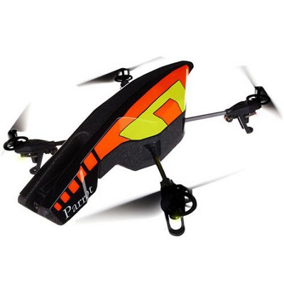 PF721001 AR.Drone 2.0 Quadricopter Orange/Yellow