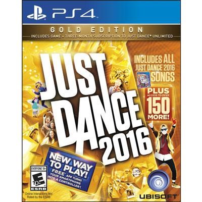 Just Dance 2016 GOLD Ed PS4