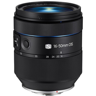 NX 16-50mm f/2.0-2.8 S Series Zoom Camera Lens with OIS and UPSM - Black