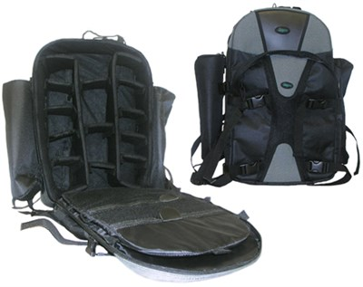 Adventurer Series Photography DSLR Camera Backpack Pro Black/Gray - ***AS IS***