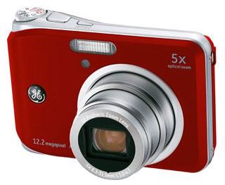A1250 12.2MP 2.5` LCD 5x Zoom Digital Camera (Red)