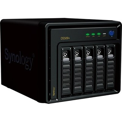DS509+ 5-bay High Performance NAS Server