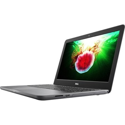 Inspiron 15.6` 7th Gen AMD A9-9400 Full HD Touch Laptop, i5565-0850GRY