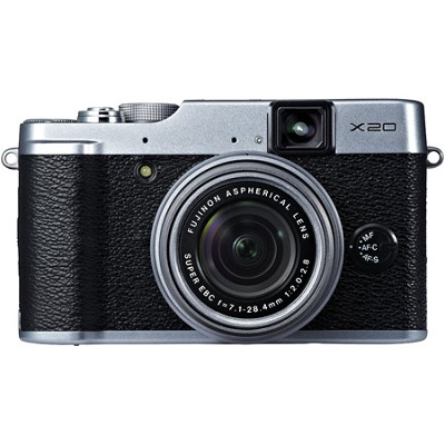 X20 12MP Digital Camera - Silver