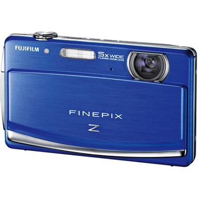 FINEPIX Z90 5x Wide Angle Zoom 14 MP Digital Camera (Blue)