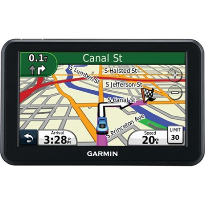 50LM 5 inch Touchscreen GPS Navigation System with Lifetime Map Updates Refurb