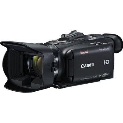 VIXIA HF G40 Camcorder w/ 20x High Definition Zoom Lens 3.5` OLED Wi-Fi