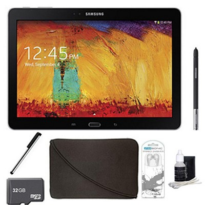 Galaxy Note 10.1 Tablet 2014 Edition (32GB, WiFi, Black) 32 GB Accessory Bundle