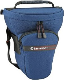 517 Tele-Zoom Pak Holster Bag - for Digital SLR w/ Lens up to 7.5 inches (Navy)