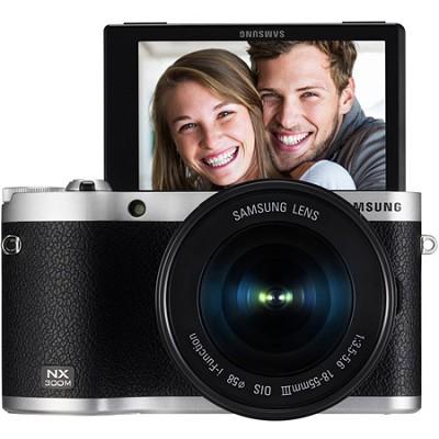 NX300M Mirrorless Digital Camera with 18-55mm f/3.5-5.6 ED Lens (Black)