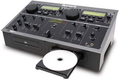 CDMIX1 Dual CD Performance System