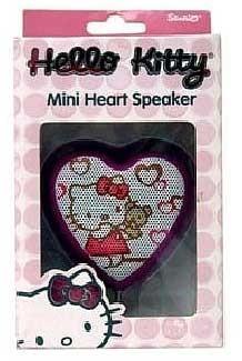 Hello Kitty MP3 Mini Heart Speaker