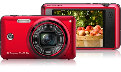 E1486TW 14MP Power Series Touch Screen Digital Camera (Red)