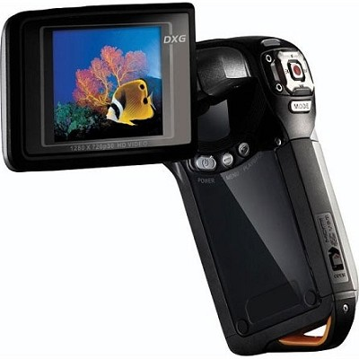 DXG-5B8V HD- 1080p HD Camcorder with Zoom-Black