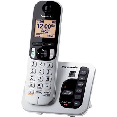 1.6` LCD Cordless Telephone with 1 Handset - KX-TGC220S