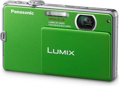 DMC-FP1G LUMIX 12.1 MP Digital Camera (Green) OPEN BOX