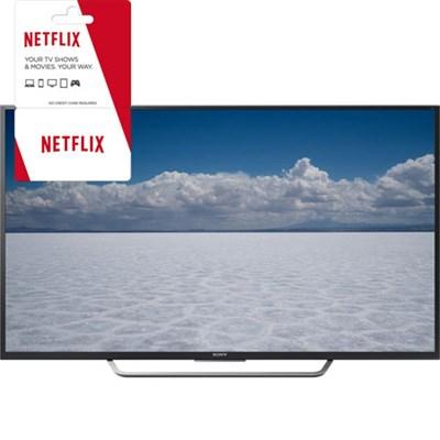 XBR-65X750D - 65` Class 4K Ultra HD TV w/ 1 Month Netflix Subscription