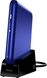 640GB Passport Elite External Hard Drive (Blue)