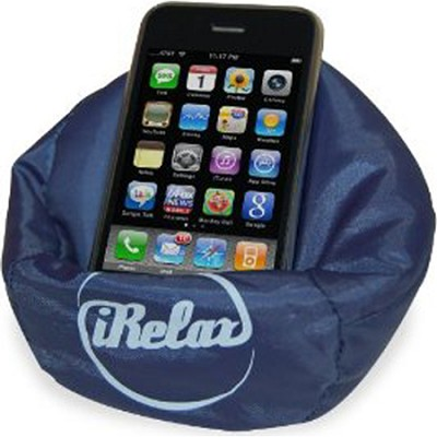 iRelax Mini Bean Bag Holder for Cell Phones