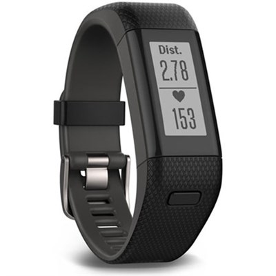 Vivosmart HR+ Activity Tracker Regular Fit, Black Refurb 1 Year Warranty