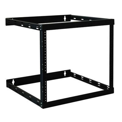 SmartRack Wall Mount 2-Post Open Frame Rack Cabinet - SRWO8U22