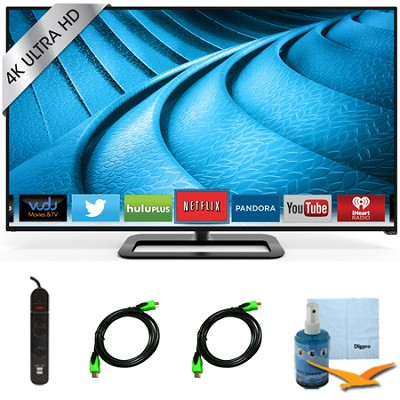P602ui-B3 - 60-Inch 240Hz 4K Ultra HD Full-Array Smart TV Plus Hook-Up Bundle