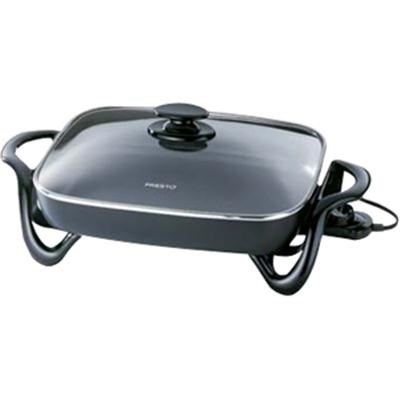 16-Inch Electric Skillet with Glass Cover - 06852