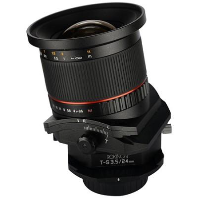 24mm F3.5 Tilt Shift Lens for Olympus 4/3
