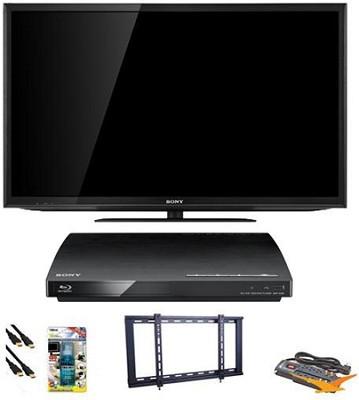 KDL55EX640 - 55 inch Wifi XR240 LED Internet TV Blu Ray Bundle