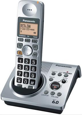 KX-TG1031S DECT 6.0 Expandable Digital Cordless Phone System
