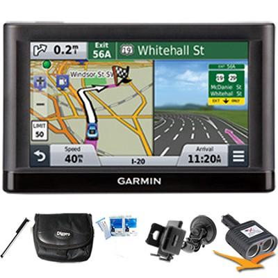 nuvi 55 Essential Series GPS Navigation System 5` Display Plus Ultimate Bundle