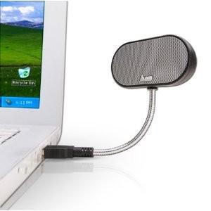 USB Travel Notebook Speaker B-Flex Hi-Fi Stereo (Black) 854291001662