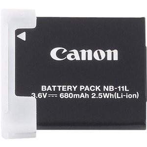 Battery Pack NB-11L for Powershot ELPH 110 HS, A2300
