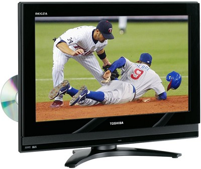 26LV67 - REGZA 26` High-definition LCD TV w/ built-in DVD Player