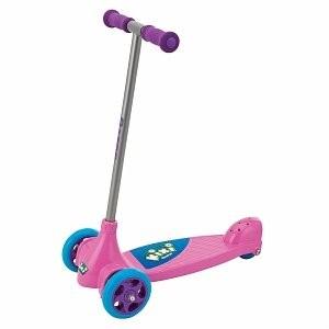 Kixi Kix 3-Wheel Kids Kick Scooter - Pink/Purple