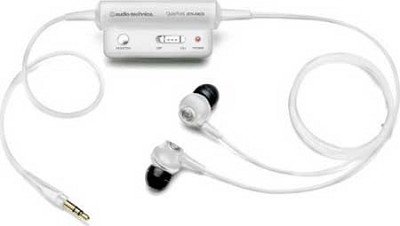 ATH-ANC3 QuietPoint Active Noise Canceling Headphones