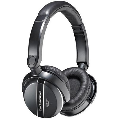 ATH-ANC27 QuietPoint Active Noise-Canceling Headphones And Travel Case
