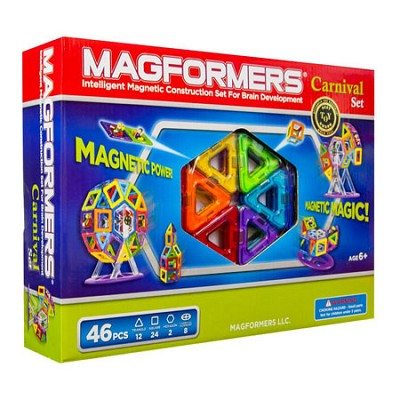 63074 Carnival 46pc Magnetic Construction Set