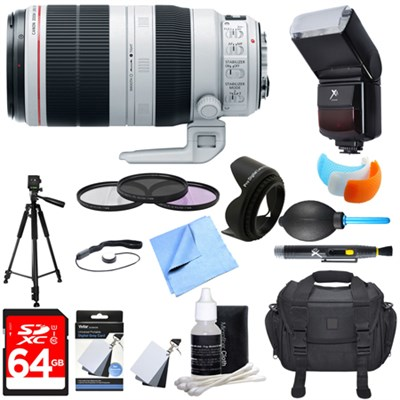 EF 100-400mm f/4.5-5.6L IS II USM Lens Ultimate Accessory Bundle