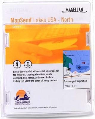 MapSend Lakes USA - North Software (SD card)