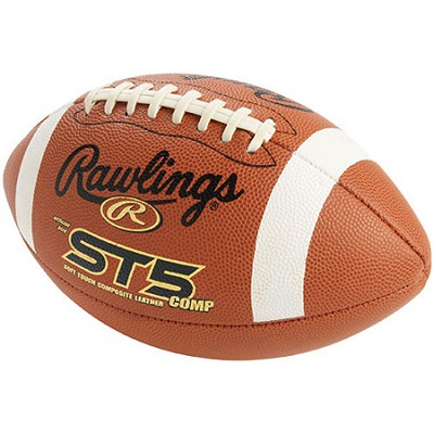 Official NFHS ST5 Composite Leather Football