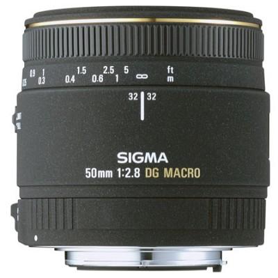 50mm F2.8 EX DG Macro for Nikon AF