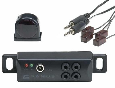 ELM501 All-In-One IR Repeater - Conceal components behind closed doors