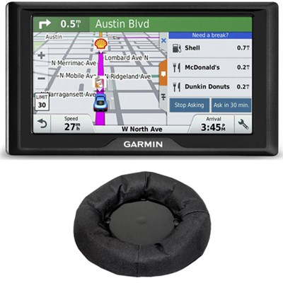 Drive 60LM GPS Navigator (US and Canada) 010-01533-07 Dashboard Mount Bundle