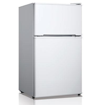 3.5 Cubic Feet Double Door Compact Refrigerator in White - WHD127FW1